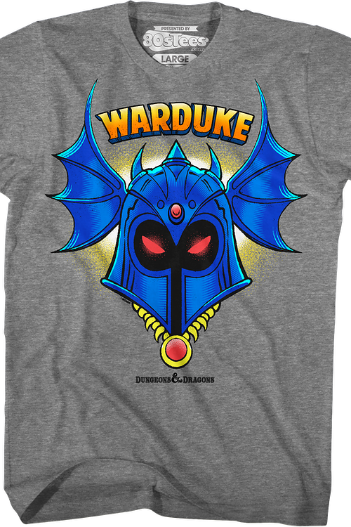 Warduke Helmet Dungeons & Dragons T-Shirt