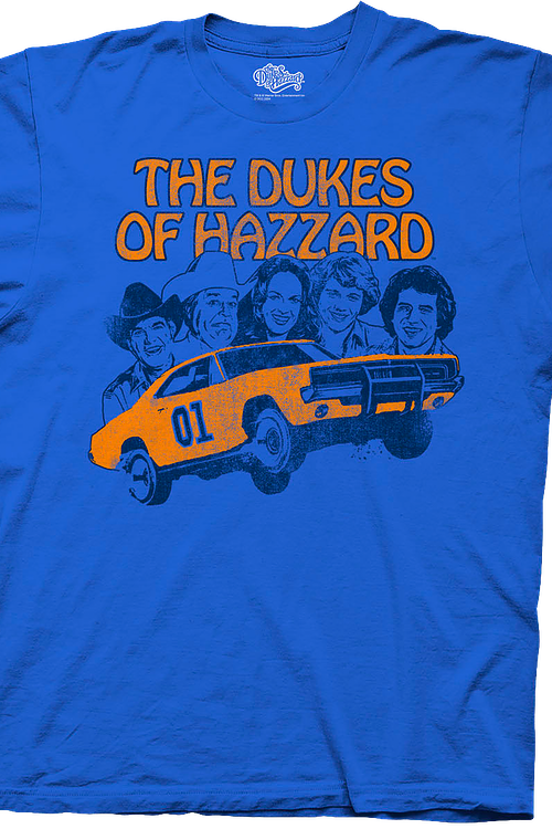 c031850a7 Group Cast Dukes of Hazzard Shirt: Dukes Of Hazzard Mens T-shirt