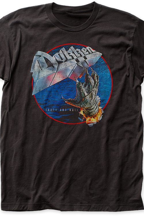 Dokken Tooth And Nail Distressed T-Shirt