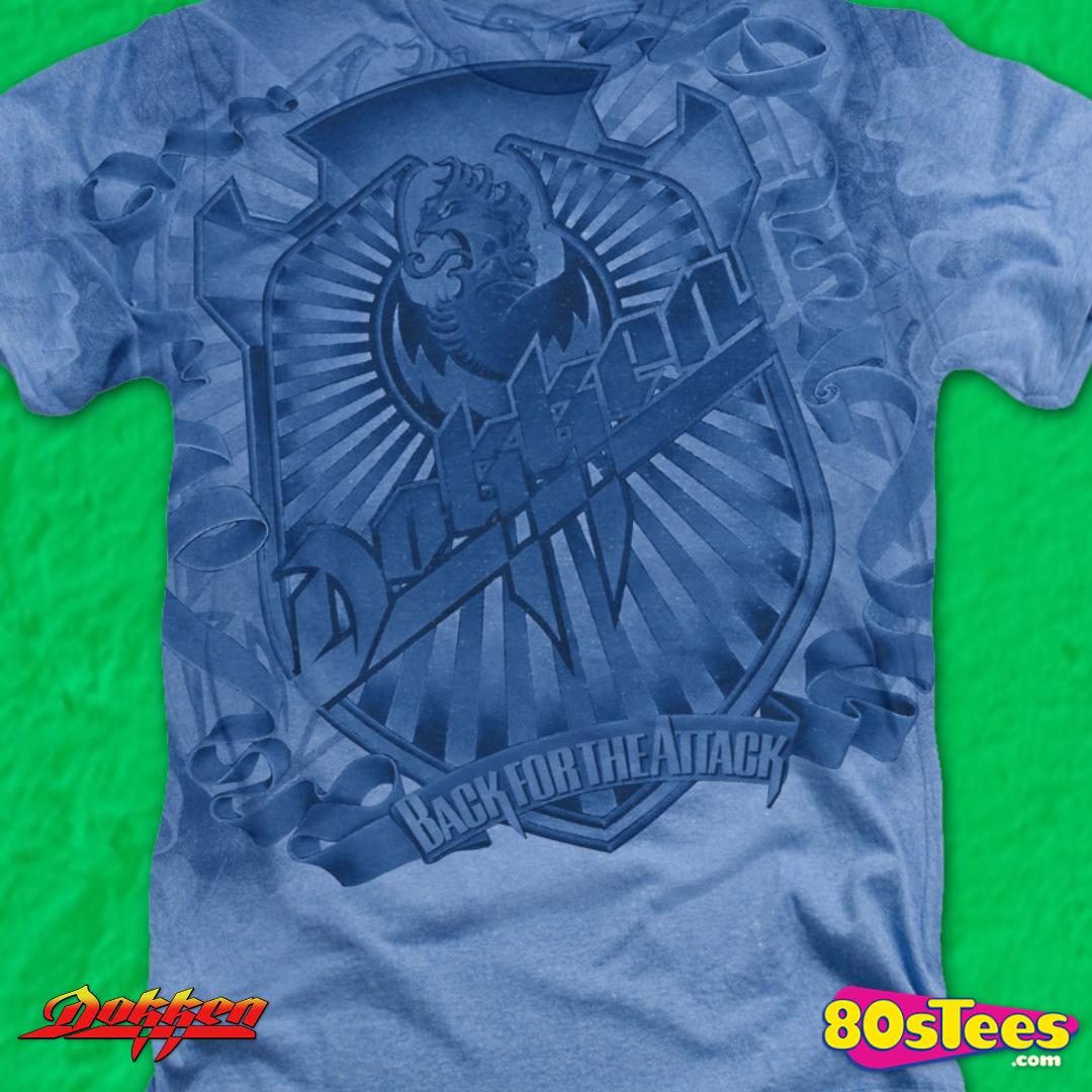 Dokken BACK FOR THE ATTACK Licensed Women/'s T-Shirt All Sizes