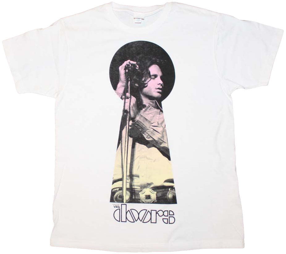Keyhole The Doors T-Shirt  sc 1 st  80s Tees & Keyhole The Doors T-Shirt: The Doors Mens T-Shirt