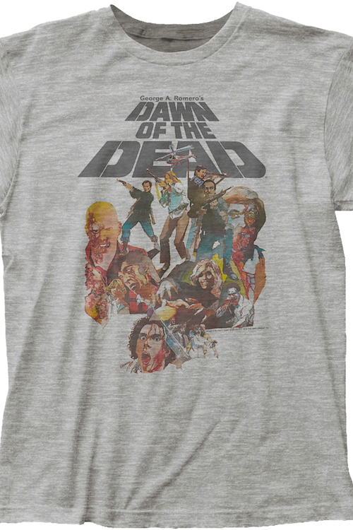 Watercolor Dawn of the Dead T-Shirt