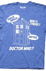 Knock Knock Doctor Who Shirt