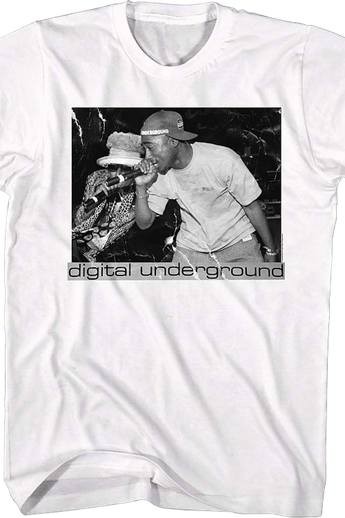 Shock and Tupac Digital Underground T-Shirt