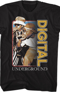 Humpty Hump and Tupac Shakur Digital Underground T-Shirt
