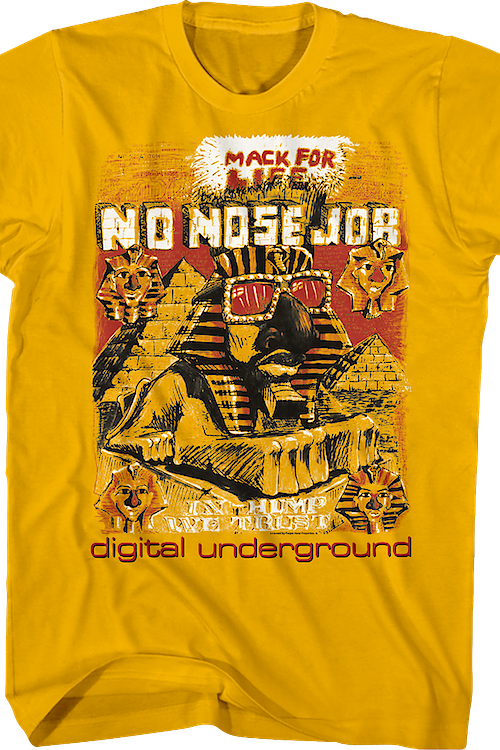 No Nose Job Digital Underground T-Shirt