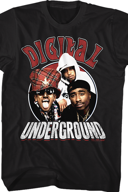 Distressed Digital Underground T-Shirt
