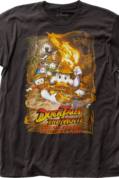 Treasure of the Lost Lamp Movie Poster DuckTales T-Shirt