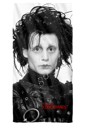 Edward Scissorhands Towel