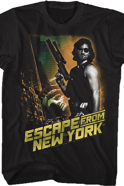 Snake Plissken Escape From New York T-Shirt