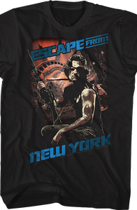 Snake Escape From New York T-Shirt