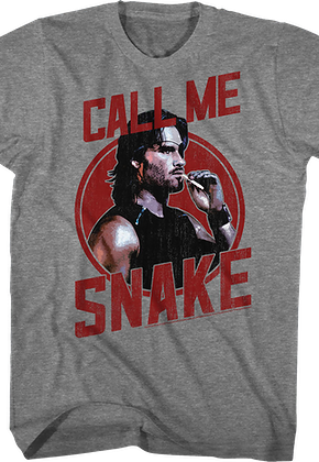 Call Me Snake Escape From New York T-Shirt