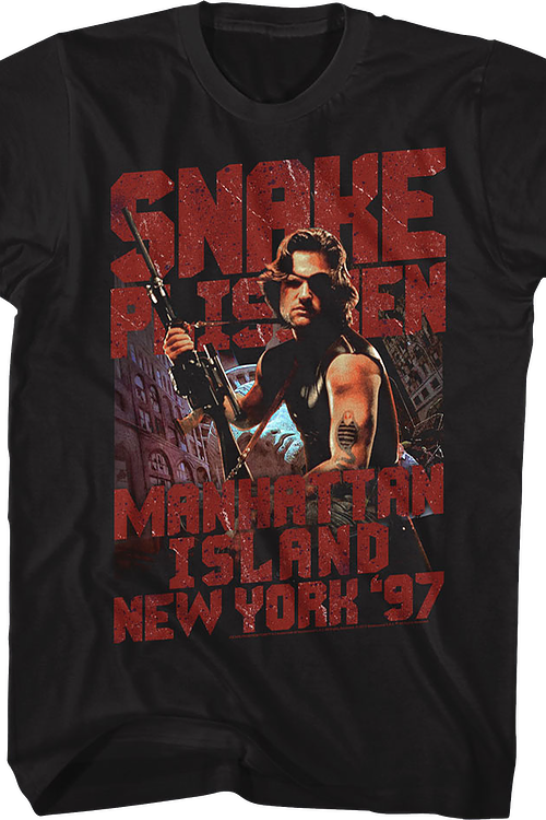 Manhattan Island Escape From New York T-Shirt