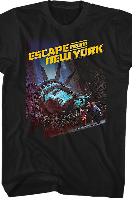 Movie Poster Escape From New York T-Shirt