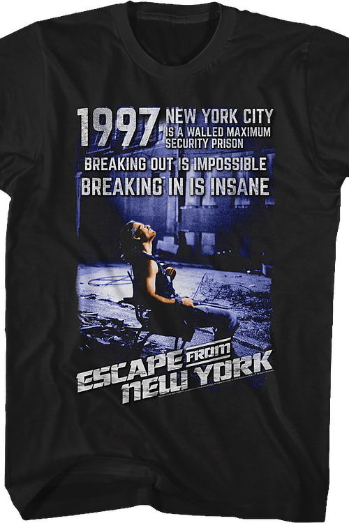 1997 Escape From New York T-Shirt