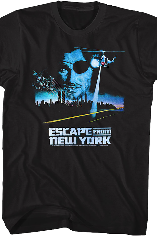 Vintage Poster Escape From New York T-Shirt