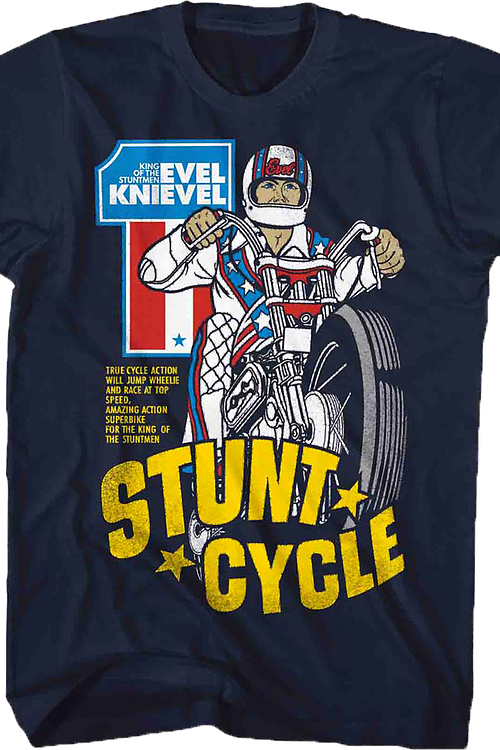 Stunt Cycle Evel Knievel T-Shirt