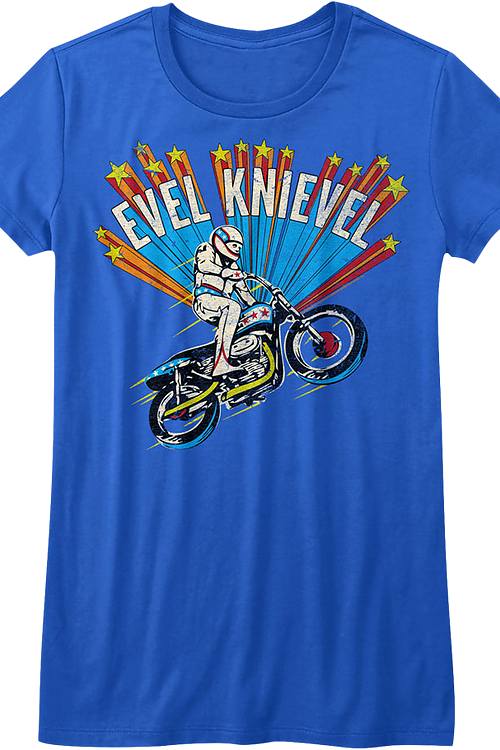 Ladies Superstar Evel Knievel Shirt
