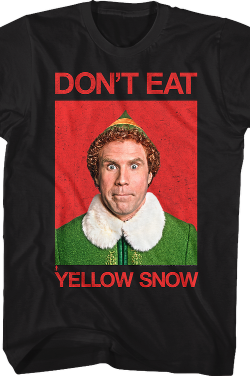 Yellow Snow Elf T-Shirt
