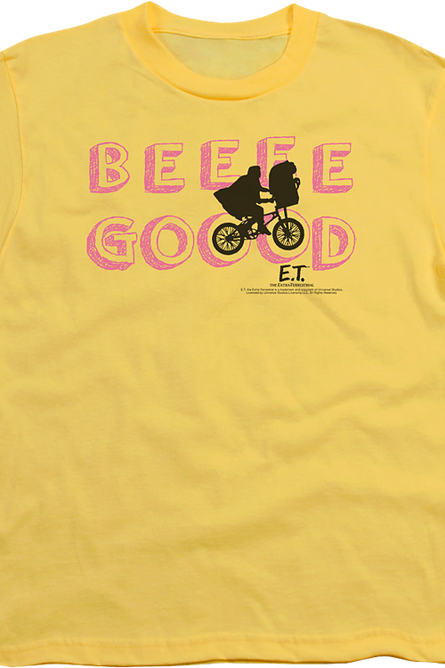 Youth Silhouette Be Good ET Shirt