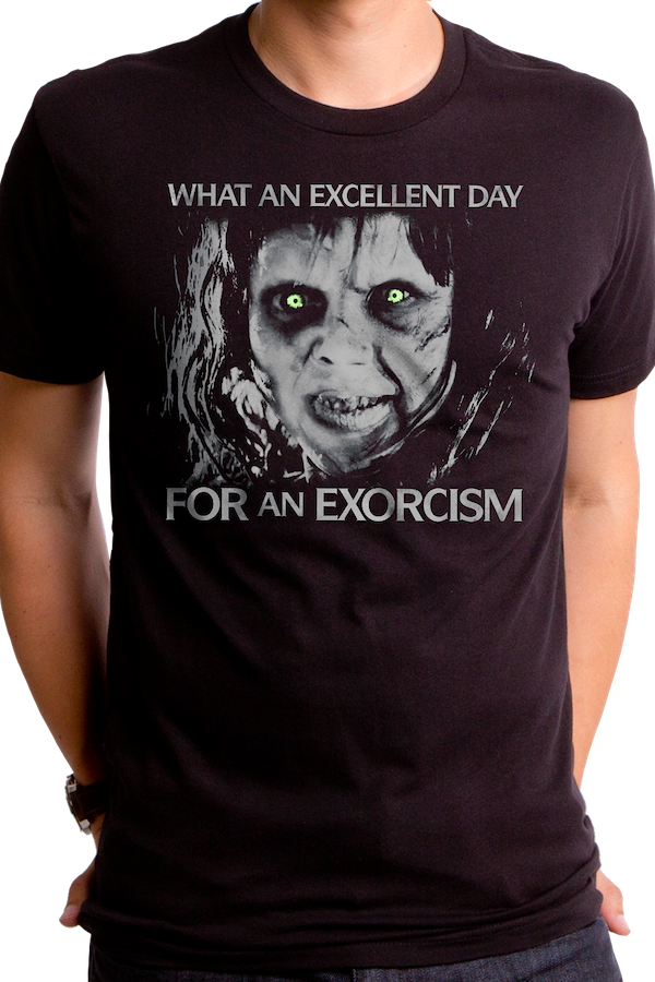 Excellent Day Exorcist T-Shirt
