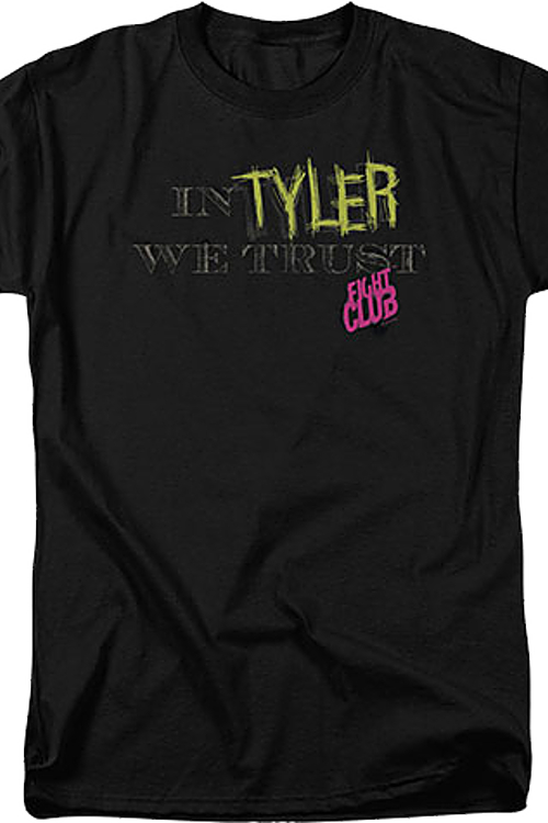 In Tyler we trust Fight Club t-shirt