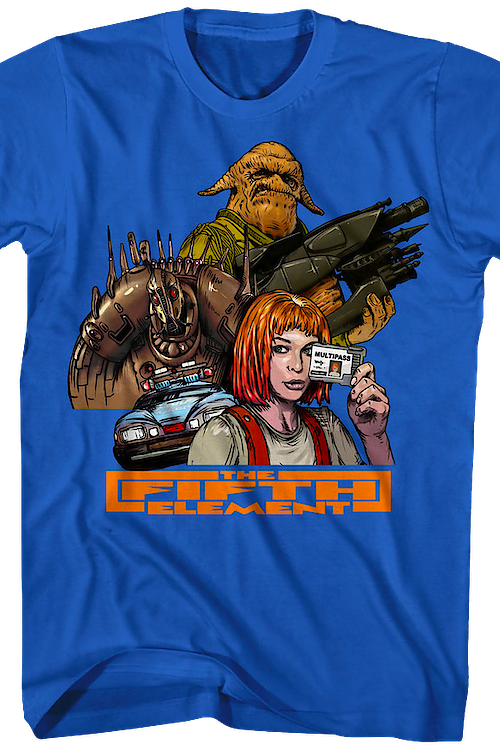 Collage Fifth Element T-Shirt