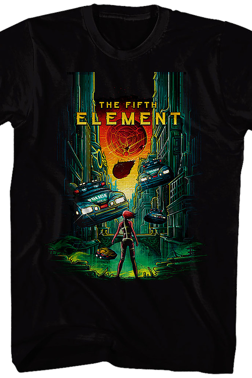Fifth Element Blu-ray T-Shirt