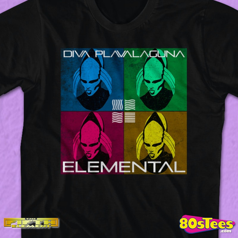 Diva Plavalaguna Fifth Element T Shirt