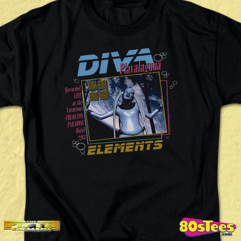 Diva Plavalaguna Live Fifth Element T Shirt