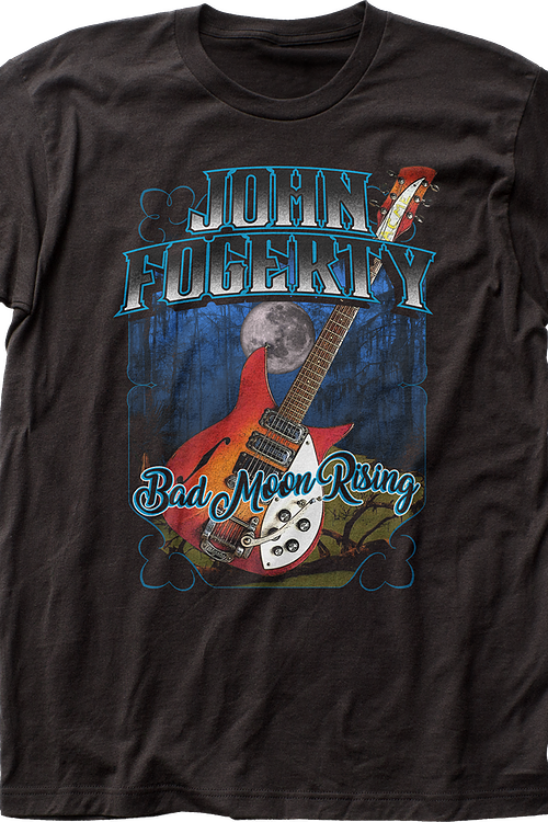 Bad Moon Rising John Fogerty T-Shirt