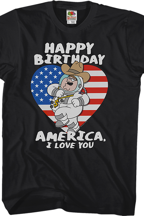 Happy Birthday America Family Guy T-Shirt