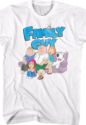 The Griffins Family Guy T-Shirt