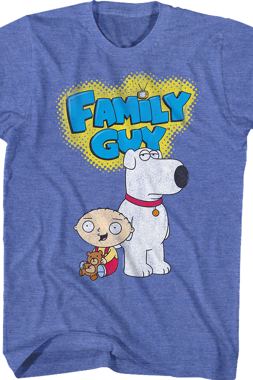 Stewie and Brian Family Guy T-Shirt