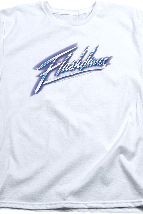 Womens Airbrush Flashdance Shirt