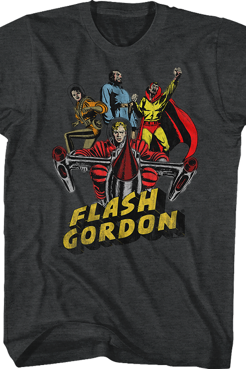 Characters Flash Gordon T-Shirt