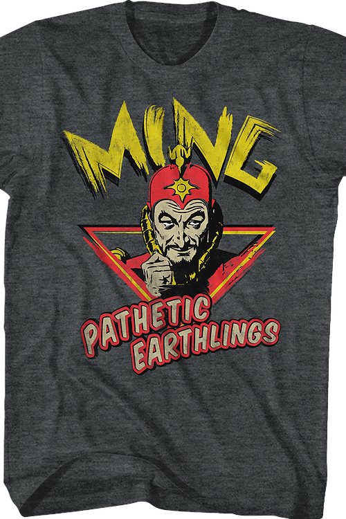 Pathetic Earthlings Flash Gordon T-Shirt