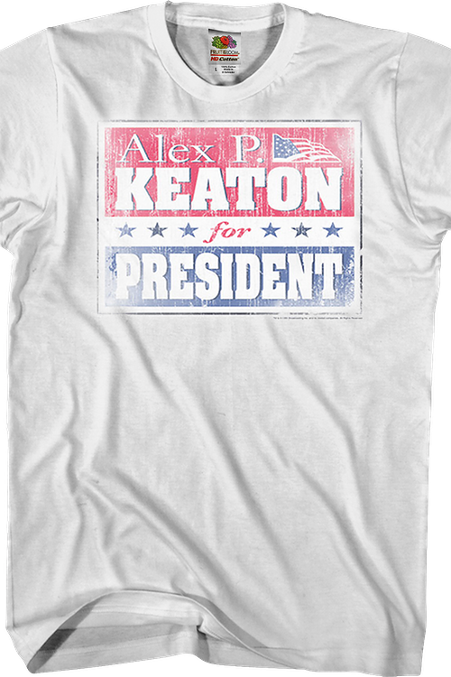 Keaton for President Family Ties T-Shirt