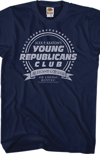 Young Republicans Club Family Ties T-Shirt