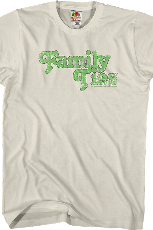 Family Ties Logo T-Shirt