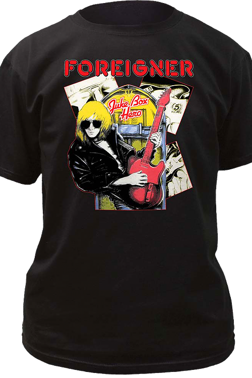 Juke Box Hero Foreigner T-Shirt