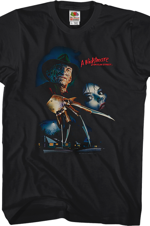 Poster Nightmare On Elm Street T-Shirt