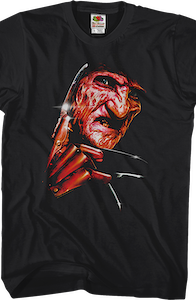 Freddy Close-Up Nightmare On Elm Street T-Shirt