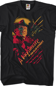 Pop Art Nightmare On Elm Street T-Shirt
