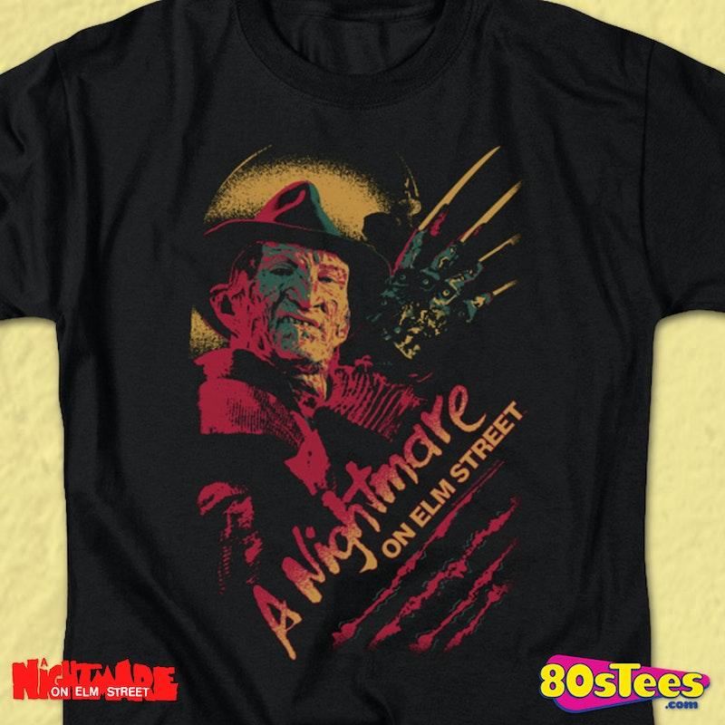 5de763a73e6 Pop Art T-Shirt  Nightmare On Elm Street Mens T-Shirt