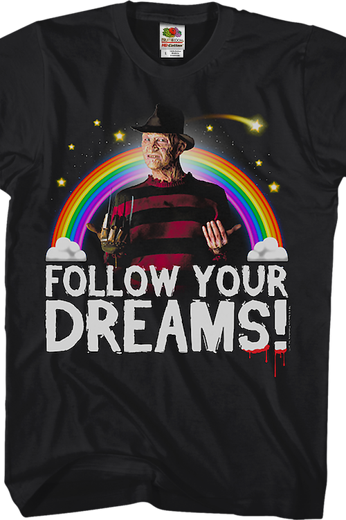 Follow Your Dreams Nightmare On Elm Street T-Shirt