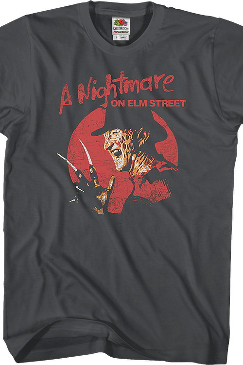 Distressed Freddy Krueger Nightmare On Elm Street T-Shirt