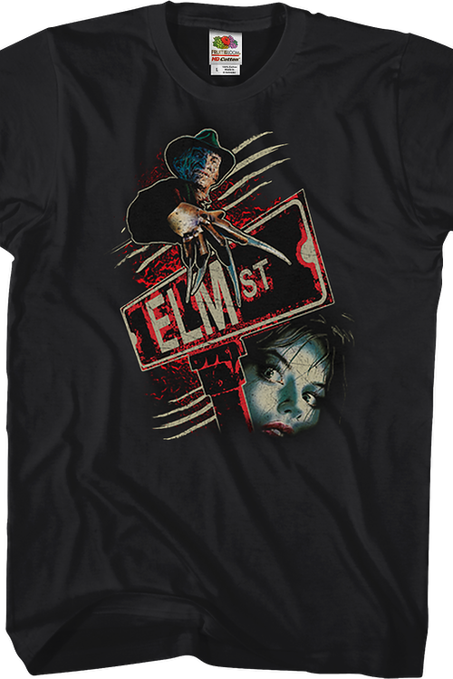 Sign Nightmare On Elm Street T-Shirt