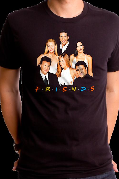 dc8263e0d Friends Cast T-Shirt TV Show 90s