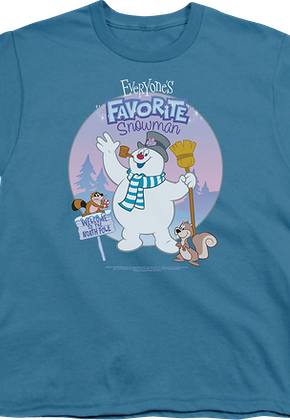 Youth Frosty The Snowman Shirt